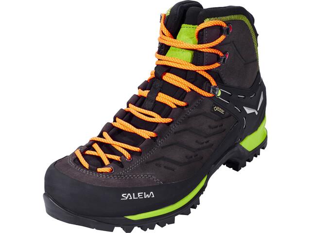 SALEWA MTN Trainer Mid GTX Chaussures Homme, black/sulphur spring